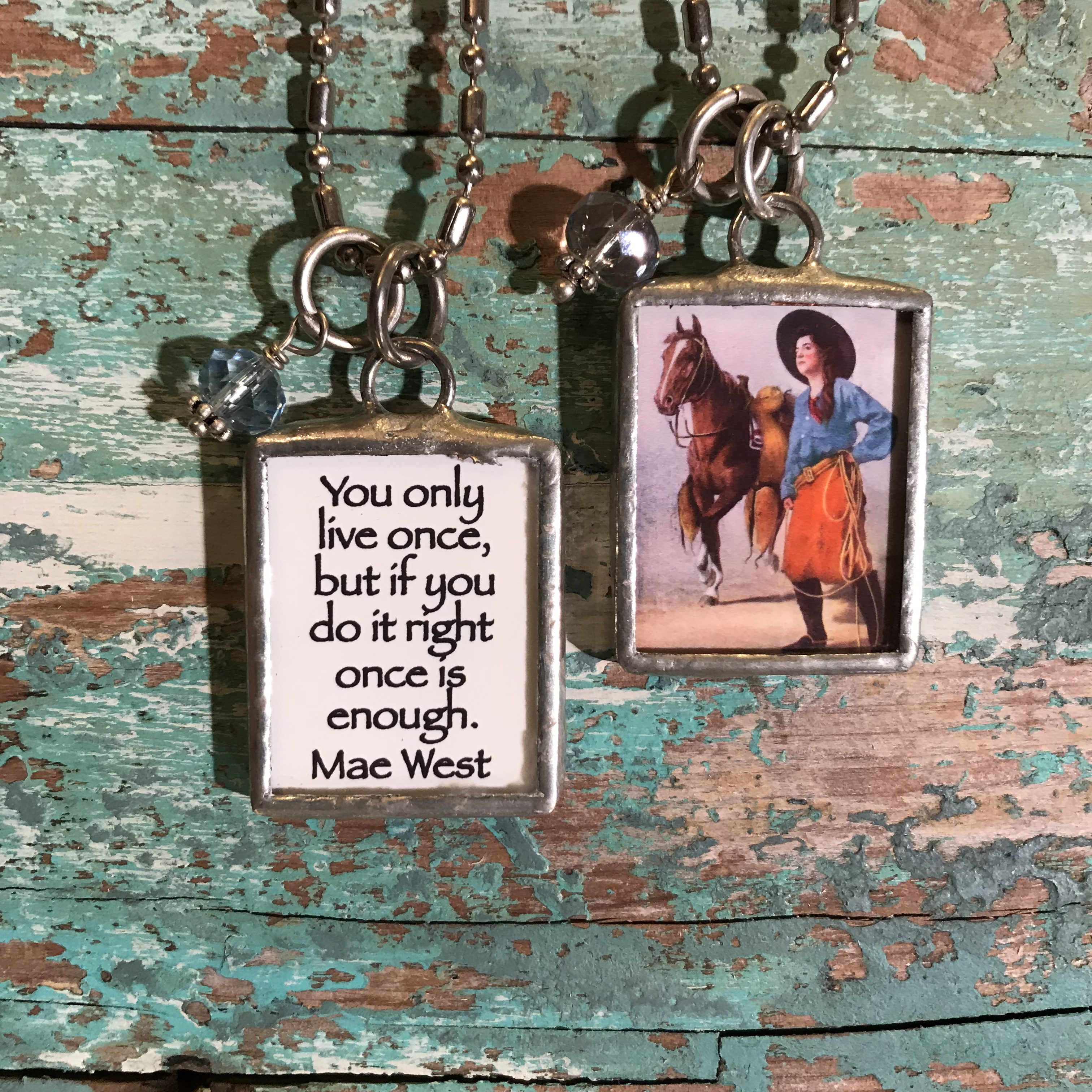 cowgirl, western, humor, Mae West, Jewelry,